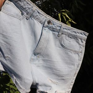 Forever 21 Ultra Vintage Ripped Shorts